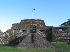 Fortaleza el Castillo en Nicaragua